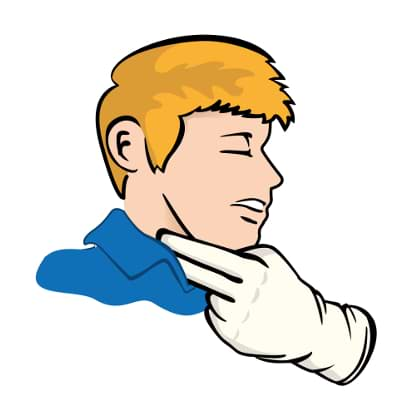 Pulsmessen am linken oder rechten Handgelenk wo ist es