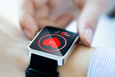 Smartwatch Puls messen